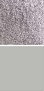 1429 Bullseye Kiln Fusing Glass Frit Light Silver Grey Transparent