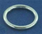 Ring,closed,Sterling Silver,thickness ca. 1 mm,Ø ca. 16 mm